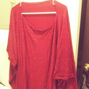 Dressy plus size poncho. Perfect under dressy tank